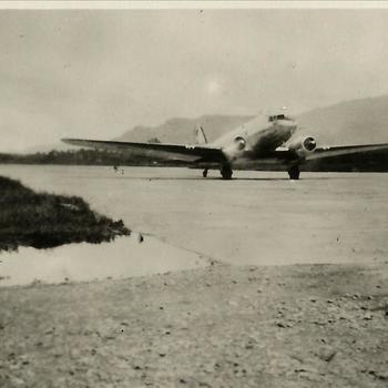 Ned. Indië na WO 2; vliegtuig, Douglas DC-3 Dakota
