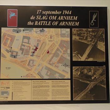 Slag om Arnhem, situaties over elkaar getekend