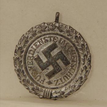 Onderscheiding. Duitsland. Für Verdienste im Luftschutz 1938