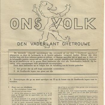 Ons Volk extra nummer 1 juli 1944