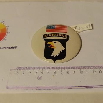 button  101st Airborne Division, 1944