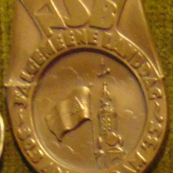 Speldje. Winterhulp. Nederland. NSB. 1935. 3e algemene landdag.