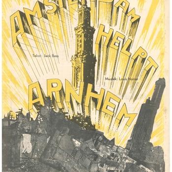 collectie Keesing, Amsterdam Helpt Arnhem, 1945