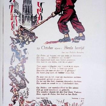 gedicht 20 October 1944: Breda bevrijd