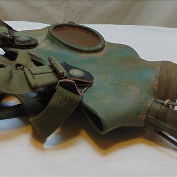 Gasmasker zonder filterbus