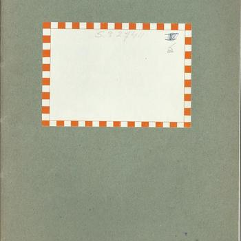 dagboek  schrift no 6  - dhr van Lieshout -