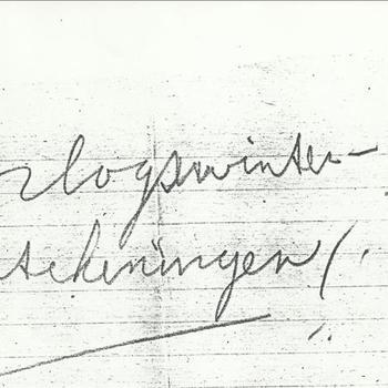 Oorlogswinter, aantekeningen,  verslag gemaakt door een medewerker van de Weesinrichting Neerbosch, september 1944