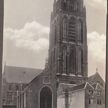 Foto van de Groote Kerk (Sint Laurens Kerk) te Rotterdam