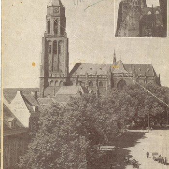 In een fatale septembernacht. De Arnhemse St. Eusebiuskerk voor en na de verwoesting