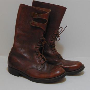 schoenen, behorende bij uniform Britse officier