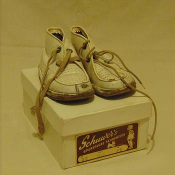 schoenen, kind, jaren '50