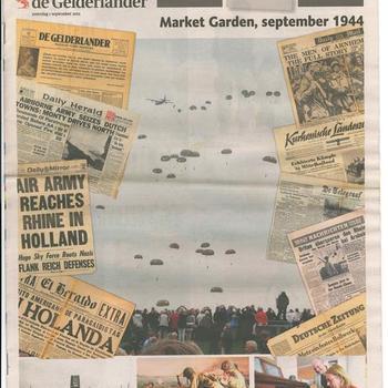 De Gelderlander, Market Garden, september 1944, extra editie zaterdag 1 september 1944