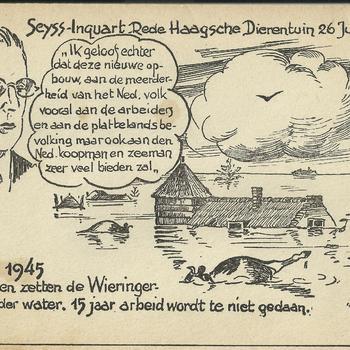 rede van Seyss-Inquart in de Haagsche Dierentuin  26 Juli 1940