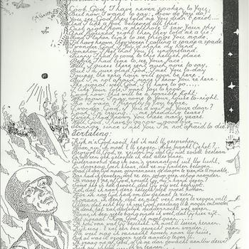 gedicht 'gevonden op 't lijk van een Amerikaanse soldaat'