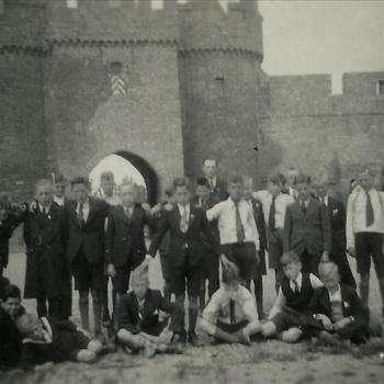 groep, gilde, kasteel Doornenburg