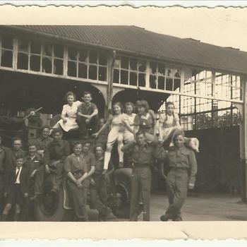 Nederlandse meisjes en geallieerde soldaten, Nijmegen