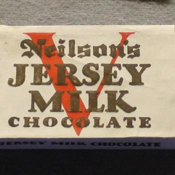 "Tablet Chocolade ""Neilson's Jersey Milk Chocolate"""