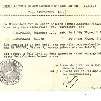 Nederlandsche Binnenlandsche Strijdkrachten N.B.S.