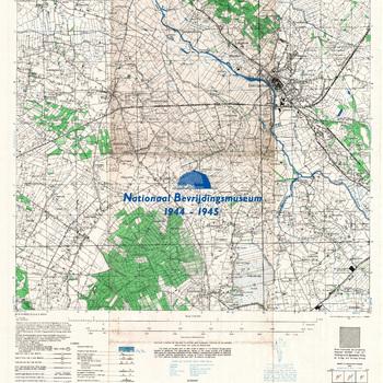 Doetinchem, Eastern Holland schaal 1 : 25.000, sheet 4003, AMS M 832 GSGS 4414.