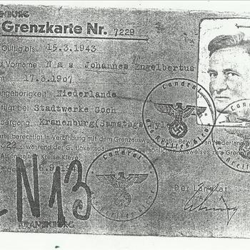 Persoonlijke documenten van Johannes Engelbertus Nas