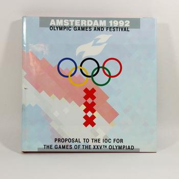 Boek met voorstel voor de 'Amsterdam 1992 Olympic Games and Festival', 1986
