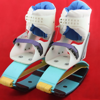 Een paar schoenen genaamd Exerlopers