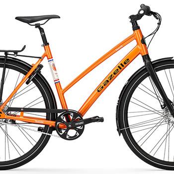 TeamNL fiets 'CityZen C7' waarmee TeamNL zich verplaatste tijdens de Olympische Zomerspelen 2016 Rio, Gazelle 2016