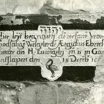 Grafsteen, Ferwoude, 1946