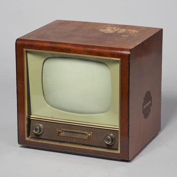 Televisietoestel van Philips, circa 1955