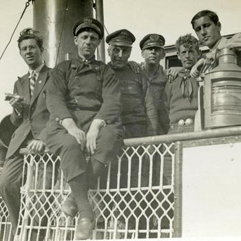 Personeel van de veerboot Insula, 1930–1940