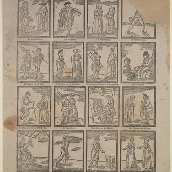 Personages en beroepen [No. 44]