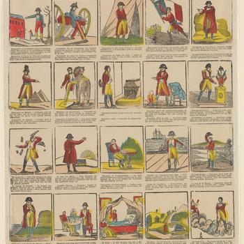 Voornaamste levenstrekken van Napoleon - (N.137.B ) - Principaux traits de la vie de Napoléon.