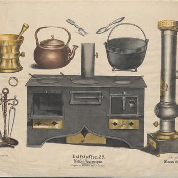 Delfstoffen. 39. - Metalen Voorwerpen.
