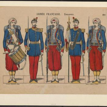 Armée Francaise. - Zouaves. - 527