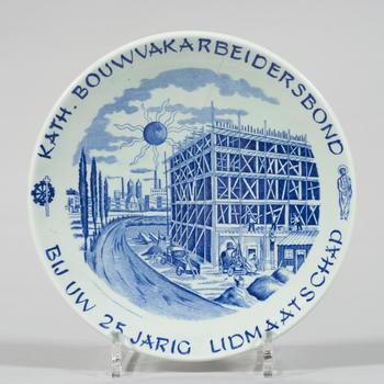Wandbord, Maastricht, 1942–1975