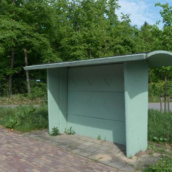 Betonnen wachthuisje, Schaarsbergen, 1960–1965