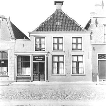 Middenstandswoning met bakkerij, Workum, 1943