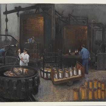 Transformatorenfabriek Nijmegen, circa 1930