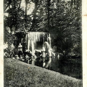 Groote waterval - Sonsbeek - Arnhem.