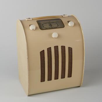 Draagbare radio, Engeland, 1946–1950