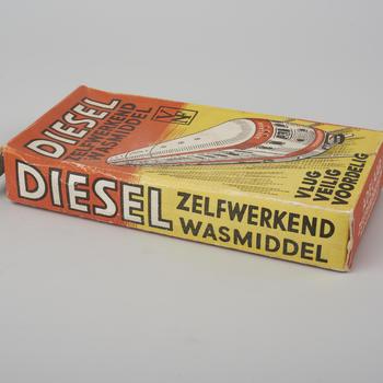 Verpakking Diesel, Wormerveer, circa 1950