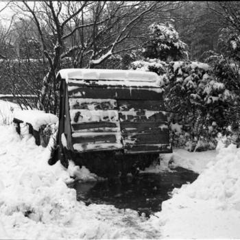 Afgesloten waterput, Hulshorst, 1946