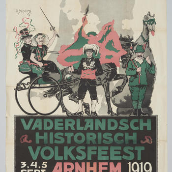 Vaderlandsch Historisch Volksfeest, Arnhem, 1919