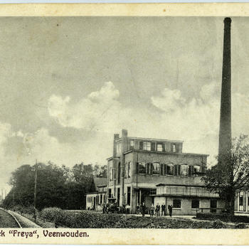 Zuivelfabriek Freia, Veenwouden, voor 1934
