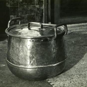 Koperen kookpot uit Overijssel, 1952