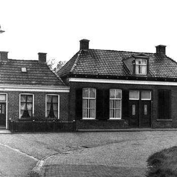 Arbeiders- en visserswoningen, Stavoren, 1943