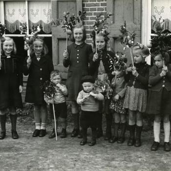 Palmpasen, Oud Schoonebeek, 1946