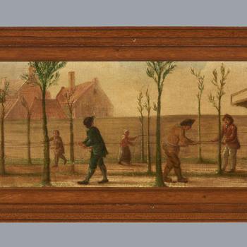 Lijnbaan of touwslagerij, 1784