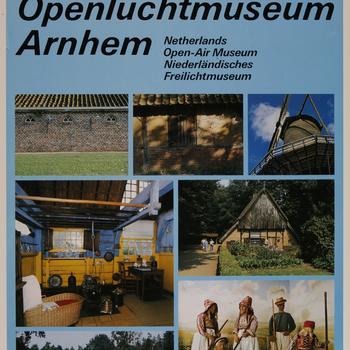 Affiche Nederlands Openluchtmuseum, 1990