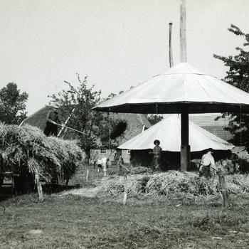 Inhalen van de rogge, Zieuwent, 1963